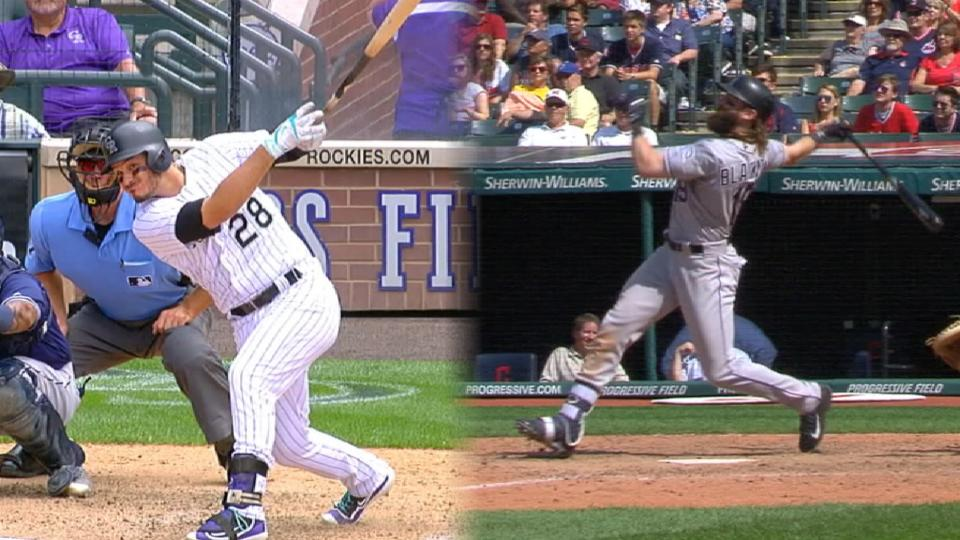 Two Rockies named Silver Slugger
