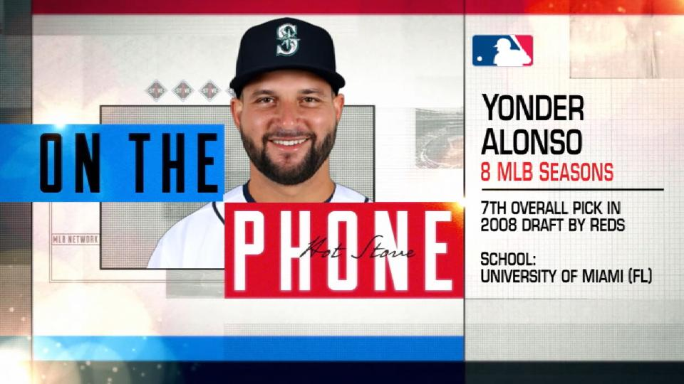 Yonder Alonso on Hot Stove