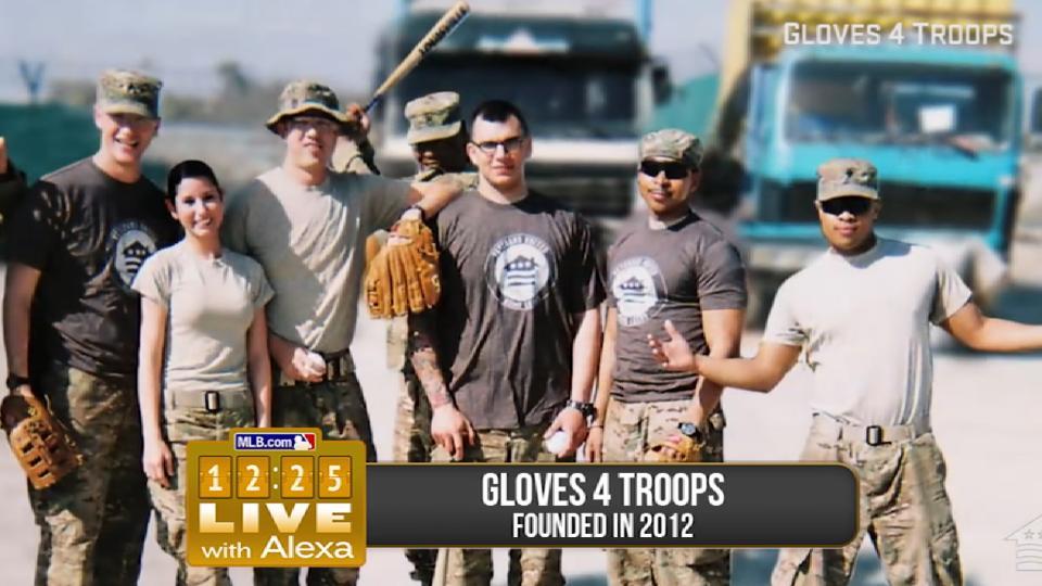 12:25 Live: Gloves 4 Troops