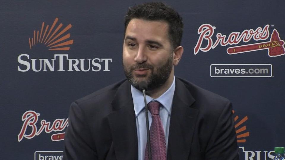 Anthopoulos hired as Braves GM