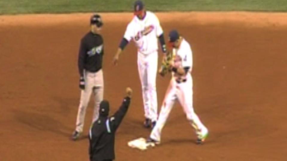 Cabrera's triple play