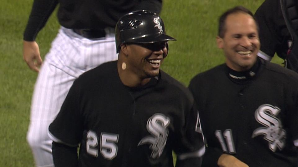 Jones' walk-off home run