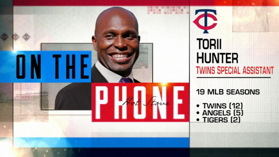 Hunter on his role with Twins