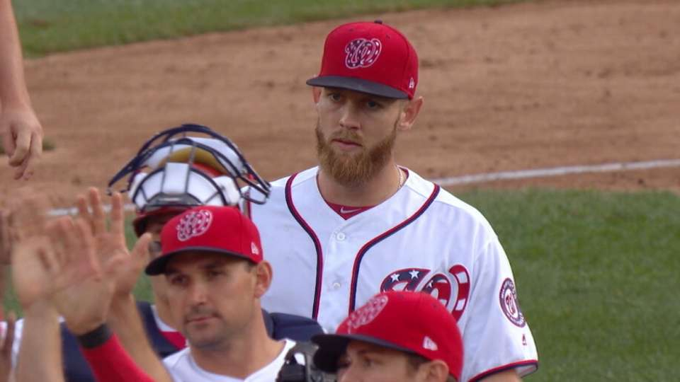 Stras places third in Cy Young