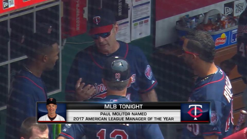 Molitor wins AL Manager of Year