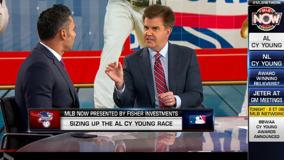 MLB Now on AL Cy Young race