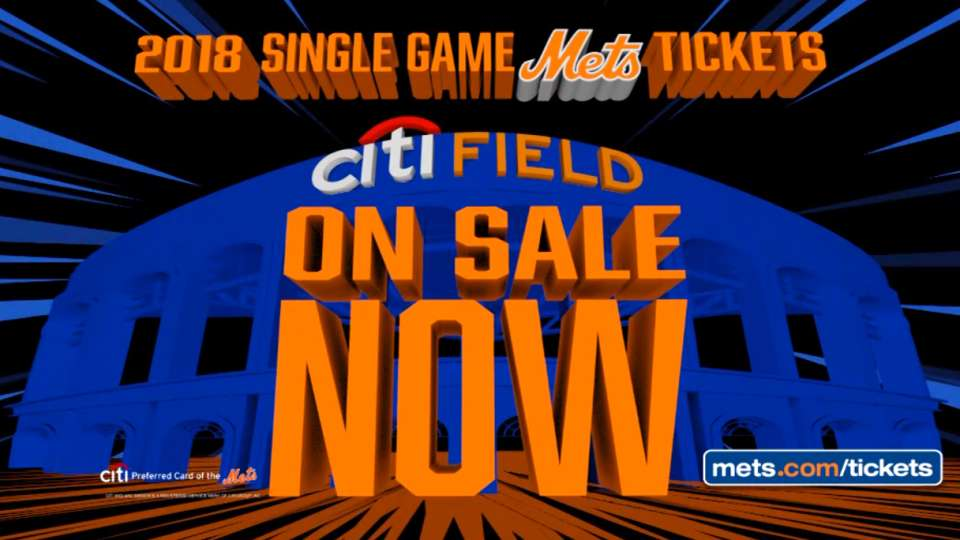 2018 Mets tickets On Sale Now
