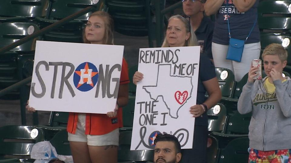 Best Moment: Astros return home
