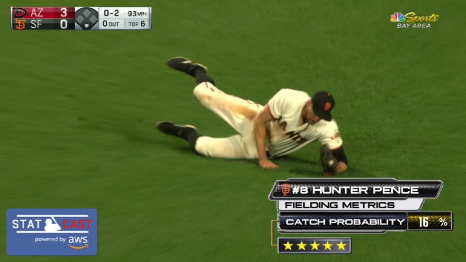 Five-star catches: Giants