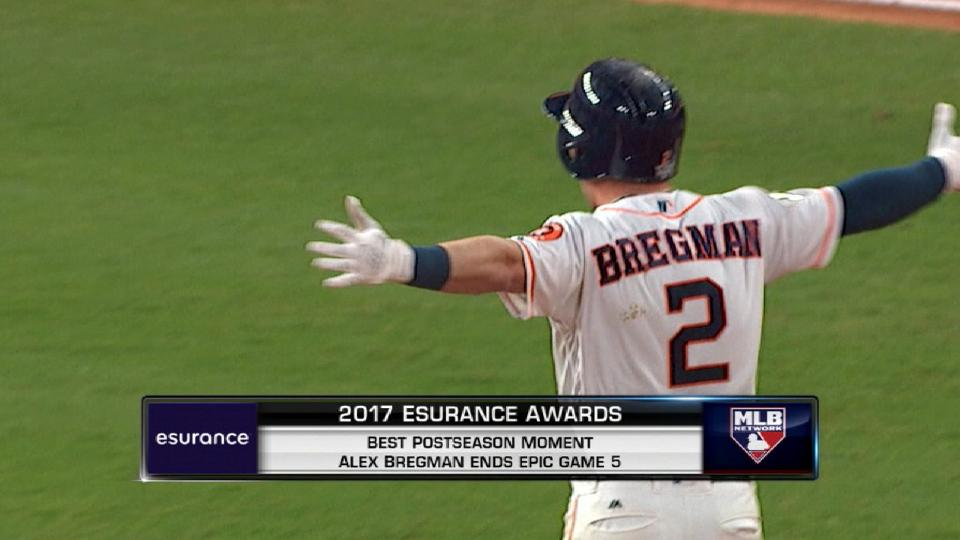 Bregman wins Postseason Moment