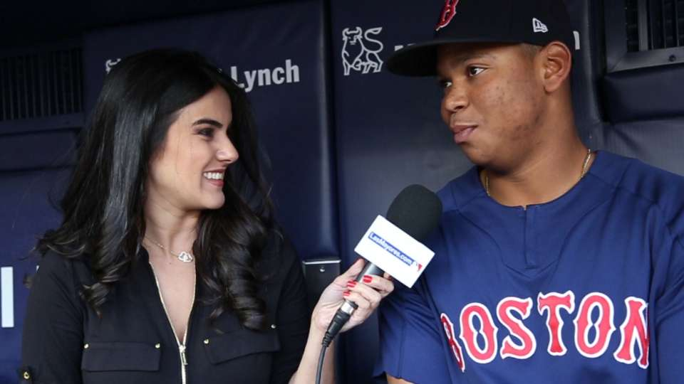 Conversa Ivon con Red Sox