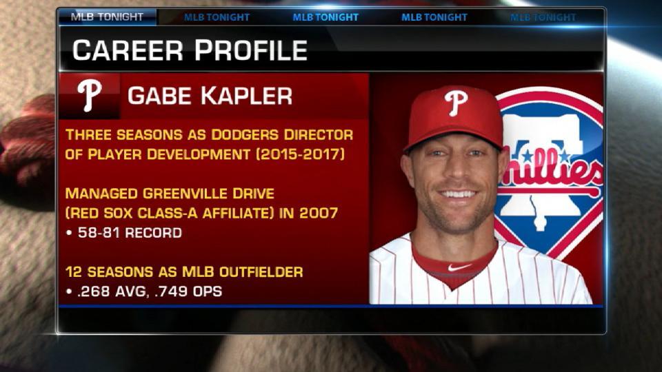Kapler's impressive resume