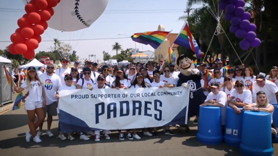 Padres and San Diego Pride