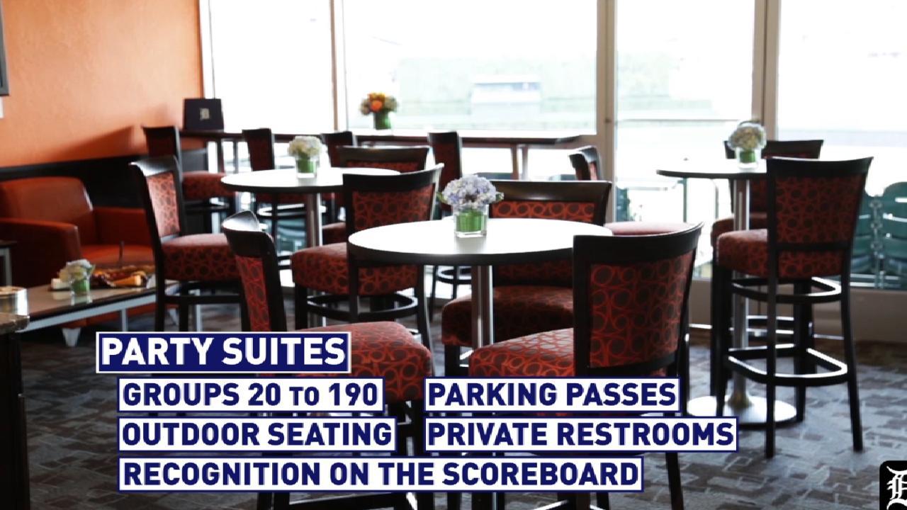 Party Suites Detroit Tigers