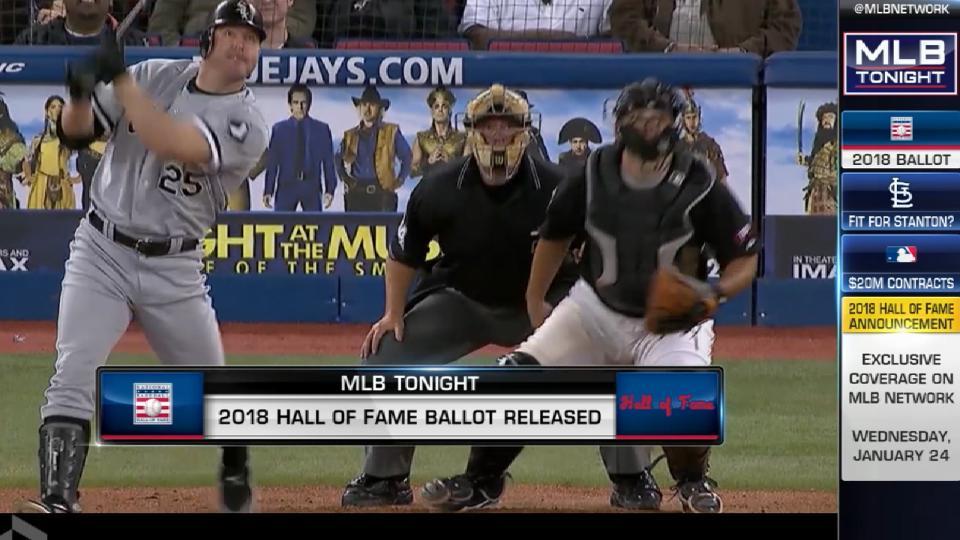 MLB Tonight on HOF ballot