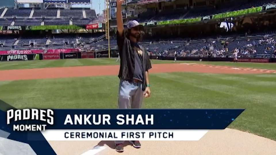 5/18/17: Shah's ceremonial pitch