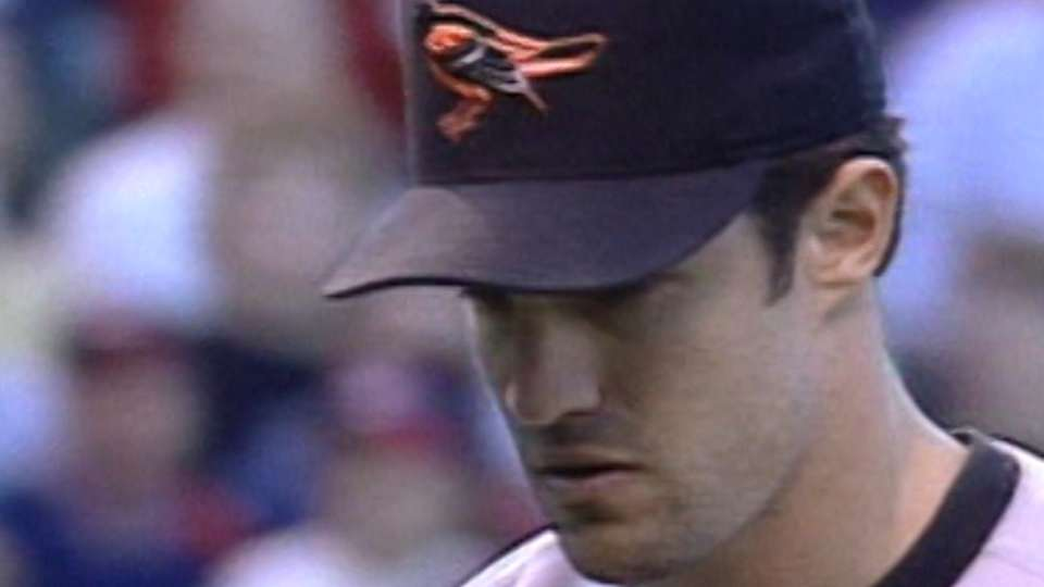 Mussina debuted with Orioles