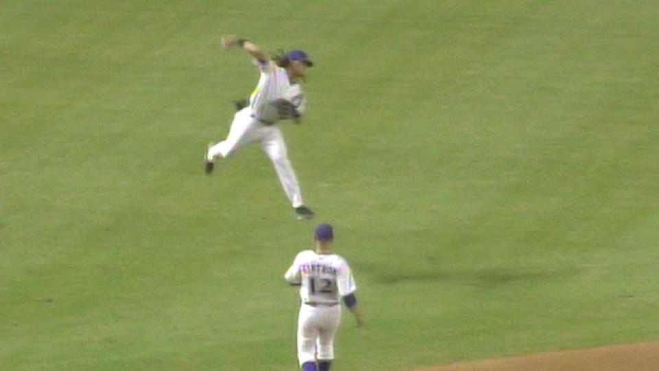 Clayton's great jumping throw