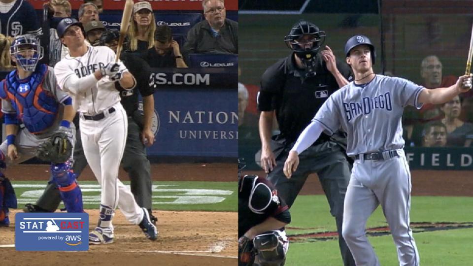 Statcast: Padres' longest HRs