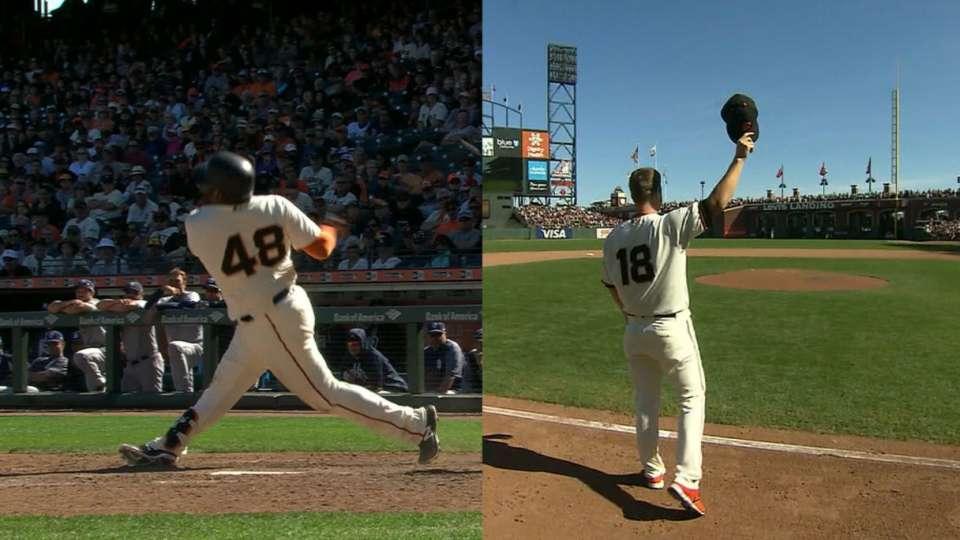 Sandoval's walk-off home run