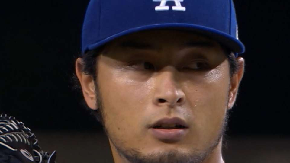 Twins looking into Darvish