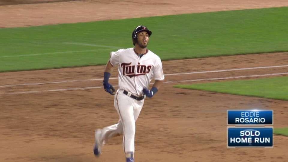 Rosario's third home run