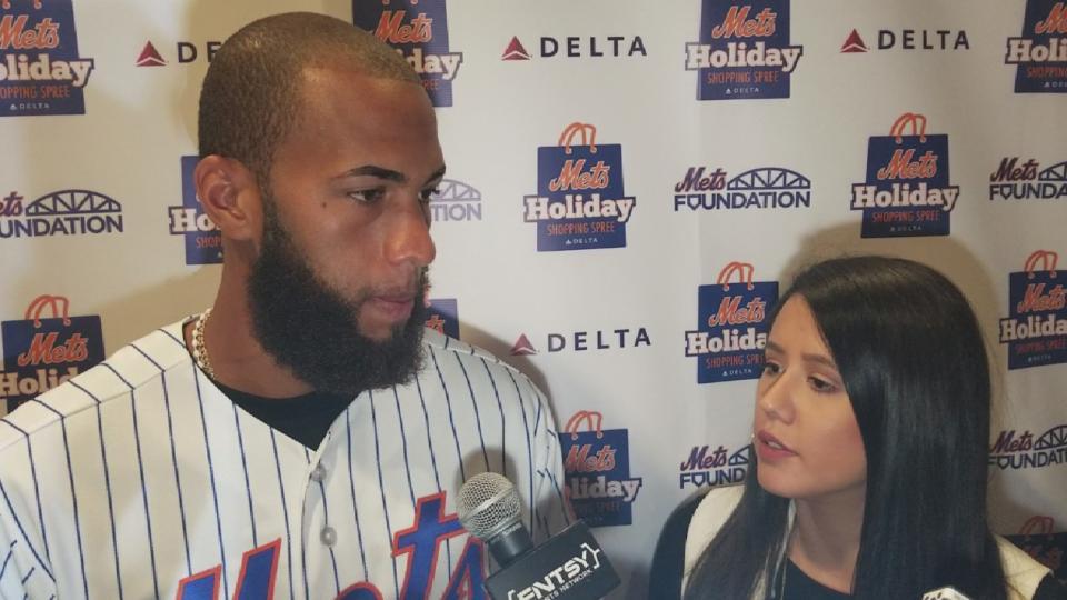 Rosario habla sobre los Mets