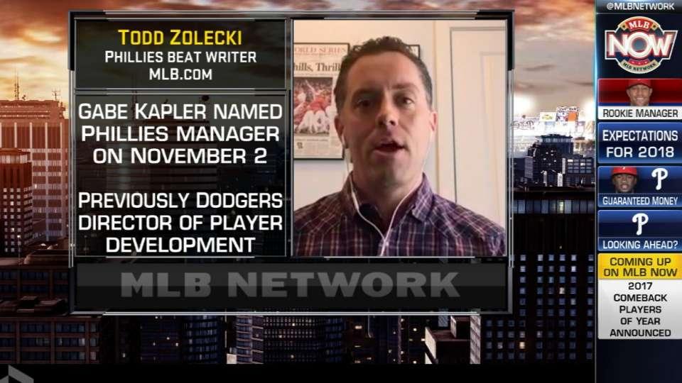 MLB Now: Zolecki on Phillies