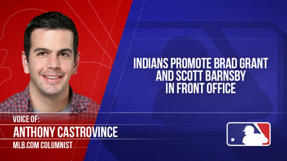 Indians promote in front office