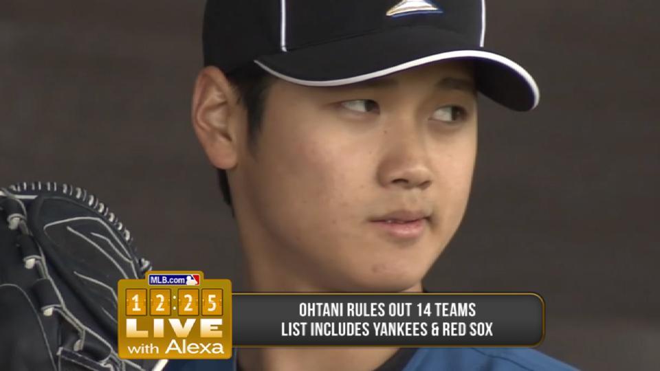 Ohtani says no to Yanks, Sox