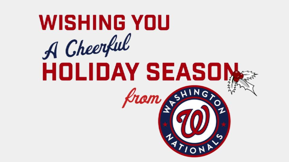 Happy Holidays from the Nats