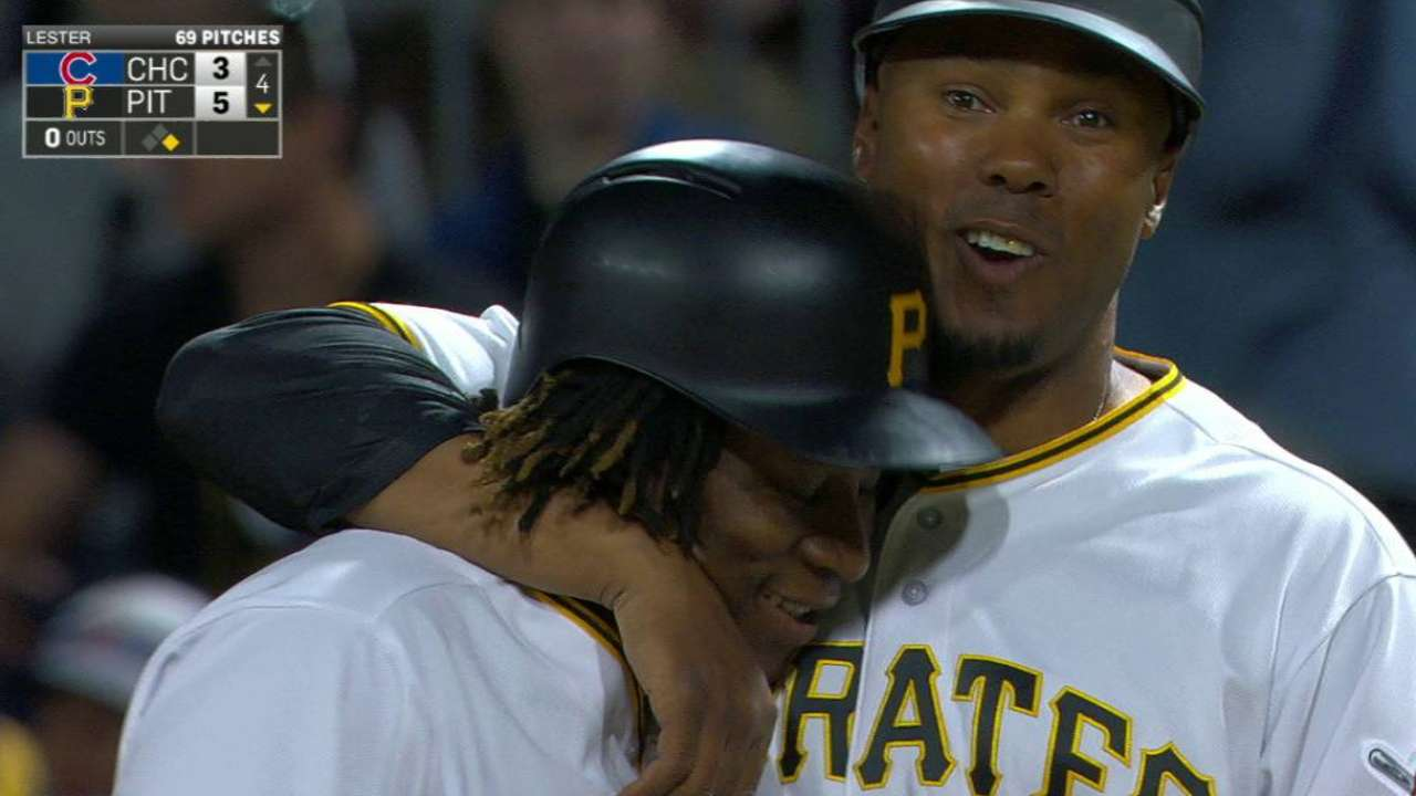 Pirates promote south african gift ngoepe mlb ngoepes first career knock negle Image collections