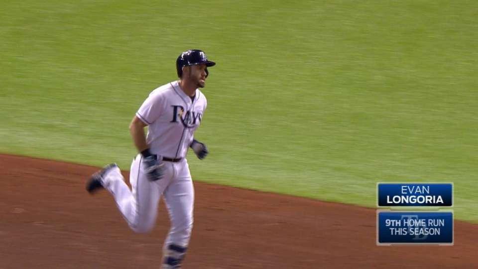 Longoria hits 250th career homer