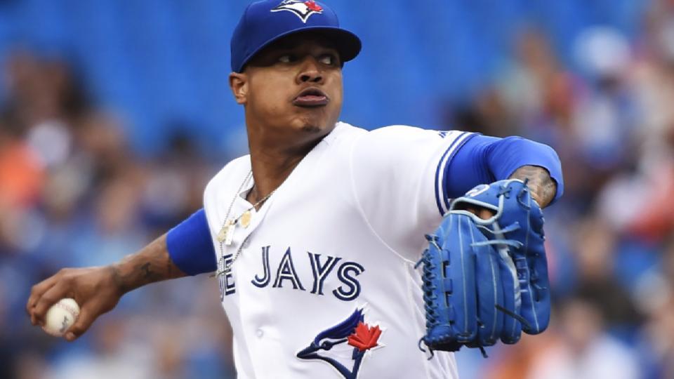 Stroman face of Toronto rotation