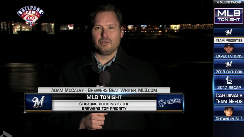 MLB Tonight: McCalvy on Brewers