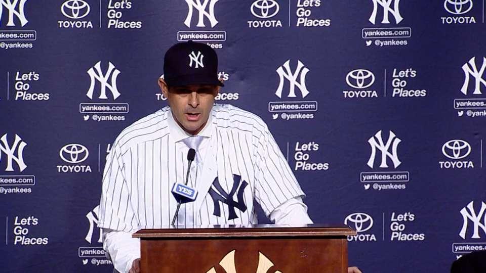 Yankees presentan a Boone