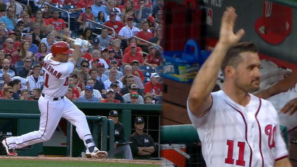 Zimmerman homers for RBI record