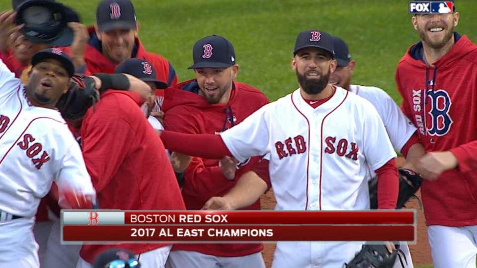 Red Sox seal AL East crown