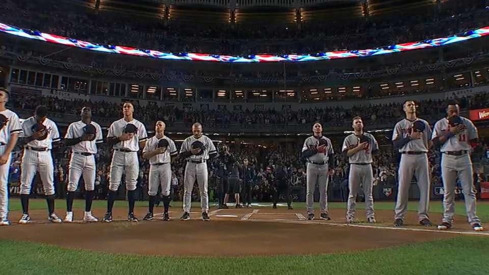 National anthem performed