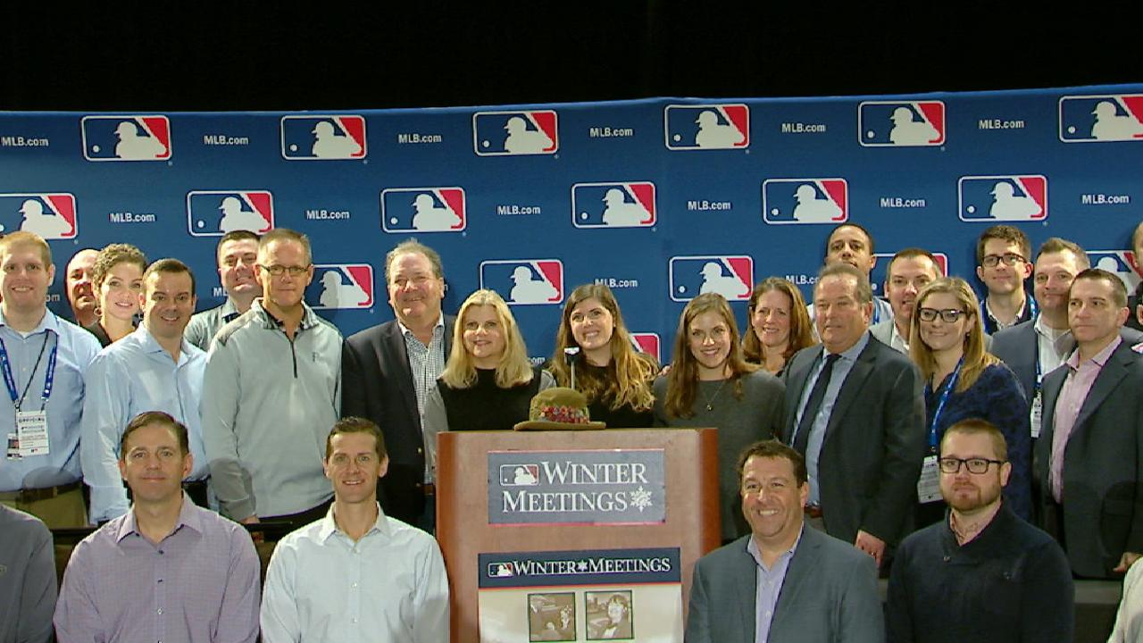 Mlb Launches Auction For Feeney Memorial Fund Mlb