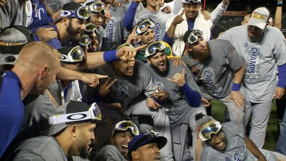 Royals win the 2015 World Series