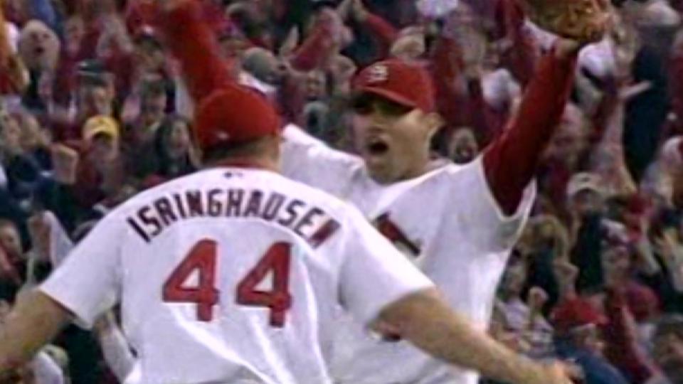 Cardinals win 2004 NL pennant