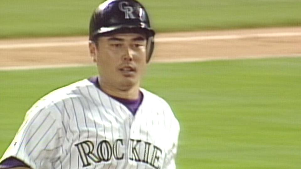 Yoshii's first homer