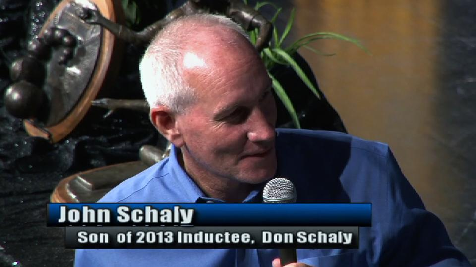 Schaly inducted into HOF