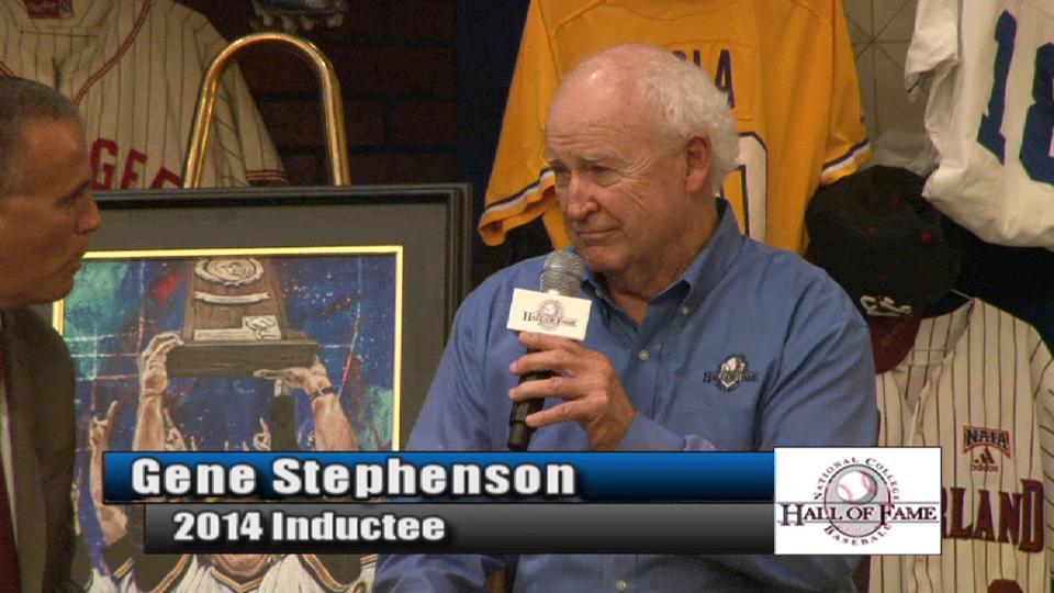 Stephenson's HOF induction