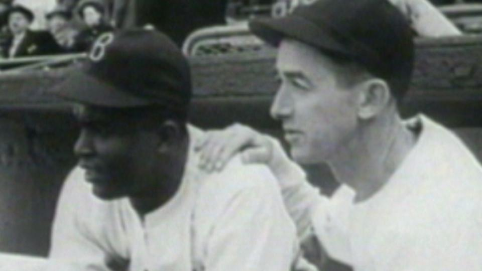 Jackie Robinson recalls debut