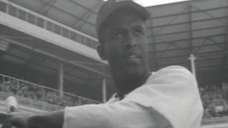 Jackie Robinson's debut
