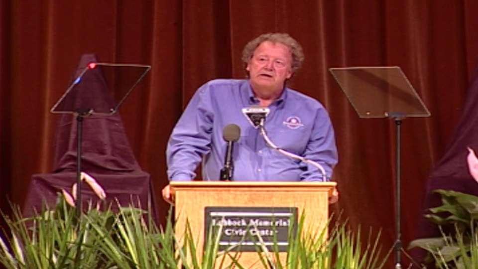 Steve Arlin induction speech