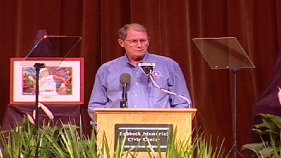 Burt Hooton induction speech