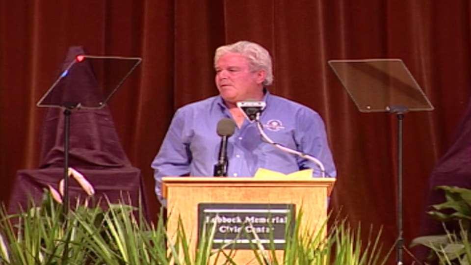 Eddie Bane induction speech